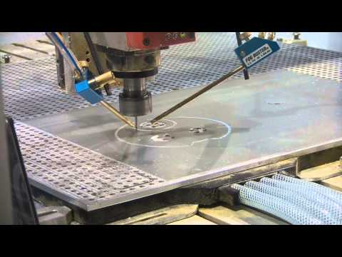 CNC routing 1mm Aluminium sheet