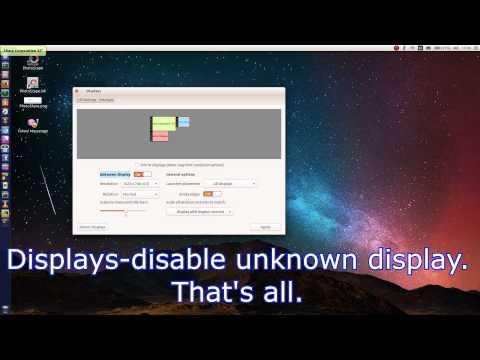 FIX Ubuntu cursor/pointer/mouse FLICKERS UBUNTU 14.04