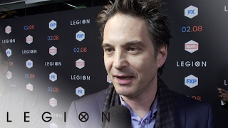 Michael Wylie & Jeff Russo – Legion on the Red Carpet