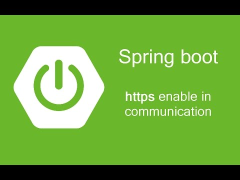 Spring Boot  - Https enable in communication