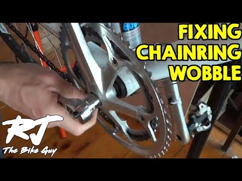 How To Fix Chainring Wobble