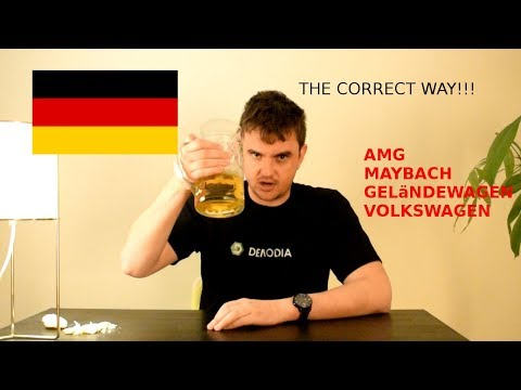 How To Pronounce German Car Names Part 2