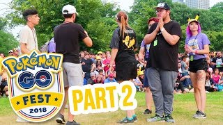 GO FEST 2018 PART 2 - SPECIAL TRADES & MEETING EVERYONE! Pokemon GO | ZoeTwoDots