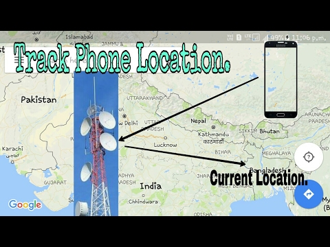 Track cell phone location,Live location status.