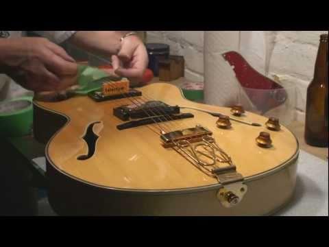 Epiphone Emperor Joe Pass Archtop Guitar Setup