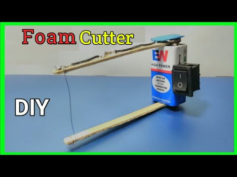 How to Make a Foam Cutter At Home | Thermocol Cutter