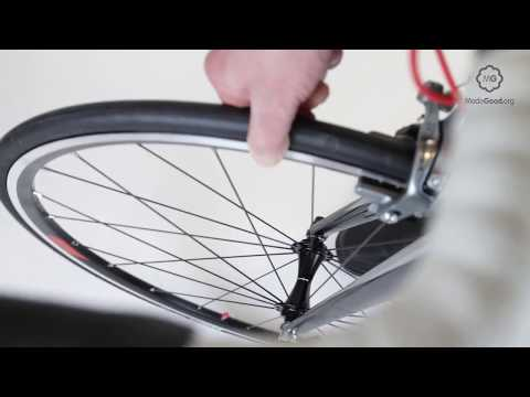 Check A Bike Wheel's Front Hub