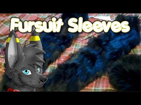 Fursuit Sleeves Unboxing Fursona Dark The KittyFox