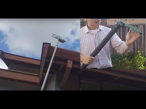 Cheapest Gutter Cleaning Without Ladder