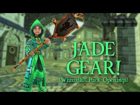 Jade Gear! (Wizard101 Pack Openings!)