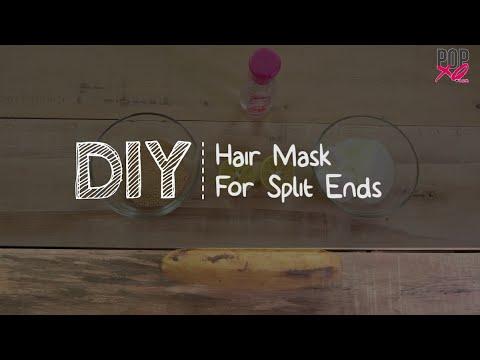 Super Easy DIY Hair Mask For Split Ends | Home Remedies for Hair - POPxo