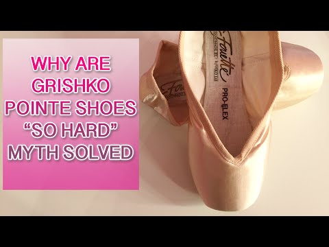 WHY Are Grishko Ballet Pointe Shoes Hard?! Pointe Shoe Fitting Advice Tips & Help