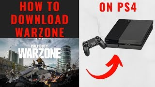 How to Download Warzone on PS4