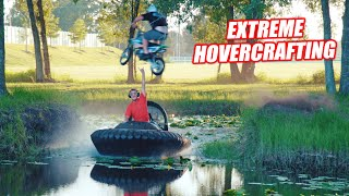 Florida Man Takes His HOVERCRAFT Career To the Next Level (ON WATER) #BrotherCraft