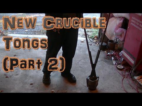 Making New Crucible Lifting Tongs (Part 2)