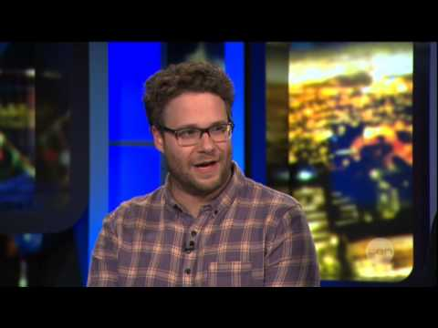 Seth Rogen interview on The Project - This Is The End (2013)