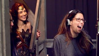 Patty Jenkins and Gal Gadot | Behind The Scenes on WONDER WOMAN