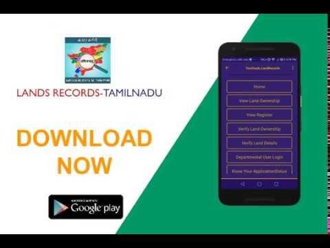 Land Records Tamilnadu