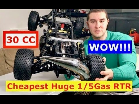 I got the cheapest 1/5 scale gas buggy ROVAN 30CC (what's it like?)