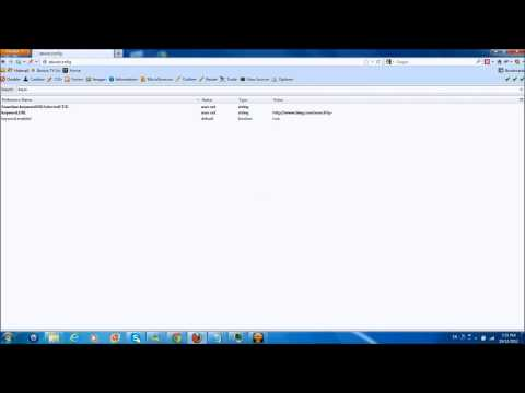 Change search engine in Address Location Bar Mozilla Firefox