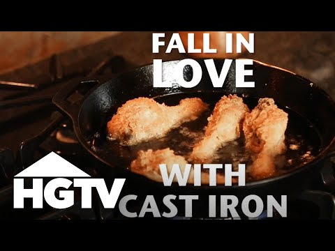 How to Care for a Cast Iron Pan - Easy Does It - HGTV