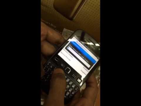 Blackberry 9720 unlock code error ....