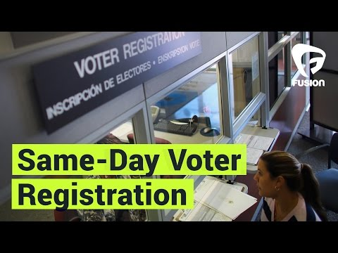 Why We Should Have Same-Day Voter Registration