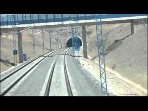 En cabina: Línea AVE Barcelona-Málaga