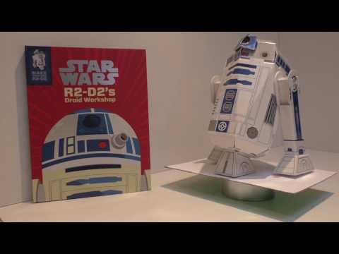 BUILD YOUR OWN R2-D2 - STAR WARS DROID WORKSHOP BY EGMONT