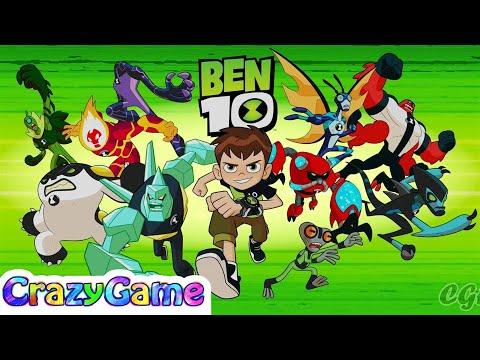 Ben 10 Full Game Gameplay Walkthrough | CRAZYGAMINGHUB