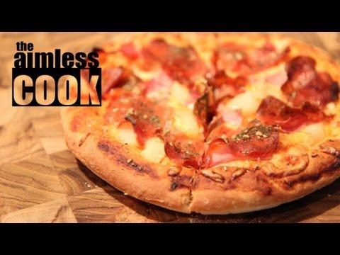 Pizza Night - Easy Pizza Dough Recipe