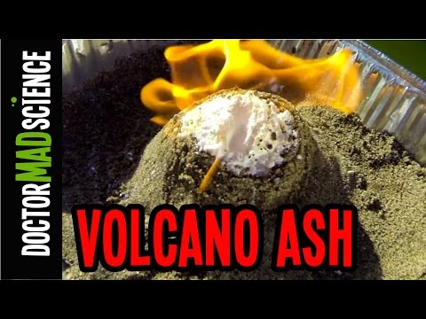 How to Make a COOL Homemade Volcano