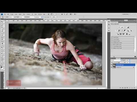 How To Rotate a Layer - Photoshop Tutorial [60 Seconds]
