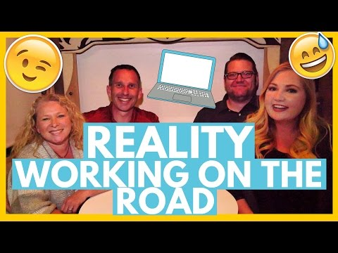 Reality of Remote Work 😉 on The Road with IT 💻 and Non-IT Jobs 👔Full Time RV Living