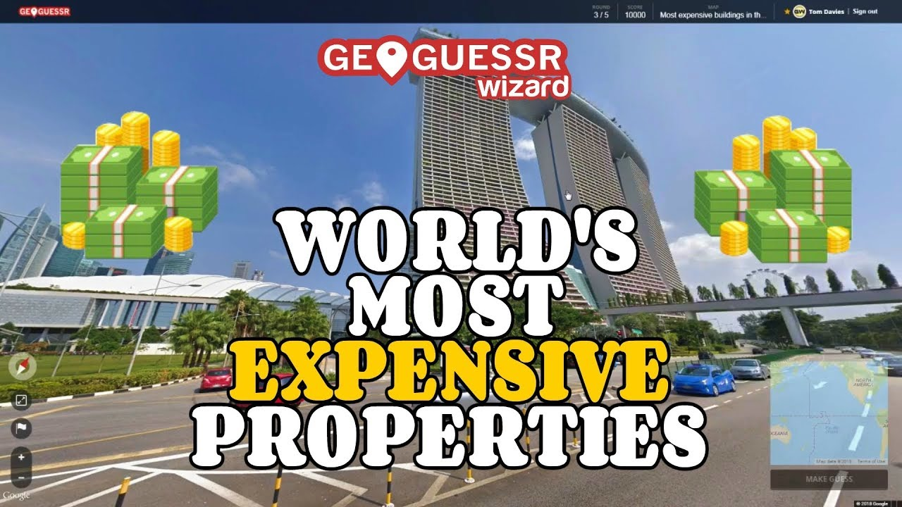 Geoguessr - Most expensive buildings in the world