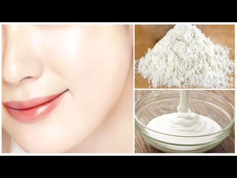 SKIN WHITENING FACIAL MASK FOR BRIGHT,GLOWING SKIN|GET MILKY WHITEN FAIR SKIN PERMANENTLY IN 7 DAYS