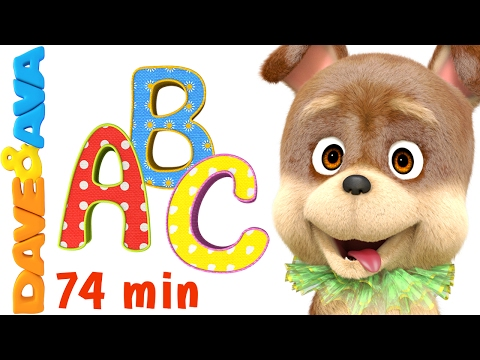 📚 Learn ABCs, Colors, Numbers and More!   Preschool Songs Collection from Dave and Ava 📚