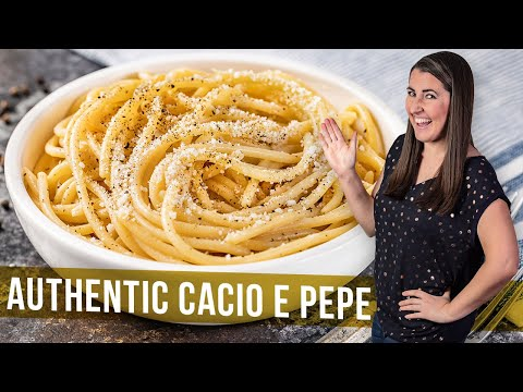 How to Make Authentic Cacio e Pepe | The Stay At Home Chef