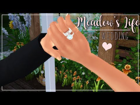 NEW LP 🎀 Meadow's Life 🎀 The Wedding | The Sims 4