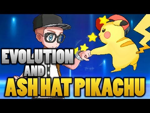 Can Ash Hat Pikachu Evolve or Use Eviolite In Pokemon Sun and Moon?