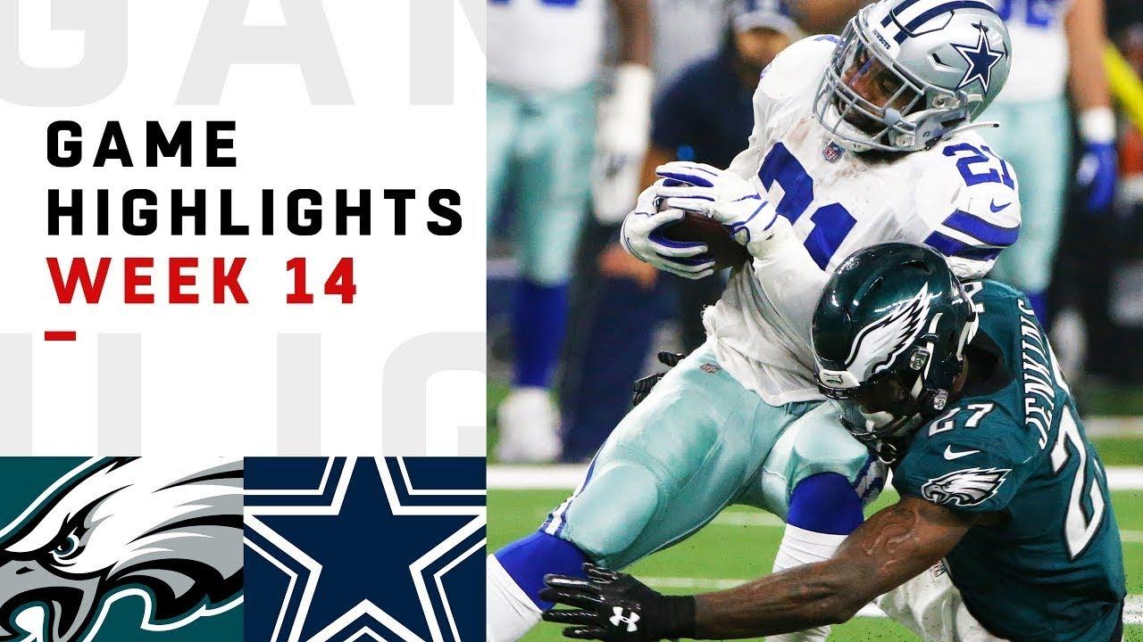 Eagles vs. Cowboys Week 14 Highlights   NFL 2018