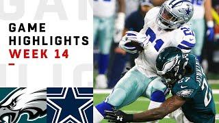 Eagles vs. Cowboys Week 14 Highlights | NFL 2018
