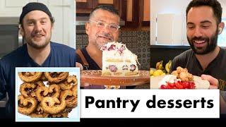 Pro Chefs Make 9 Different Pantry Desserts | Test Kitchen Talks @ Home | Bon Appétit