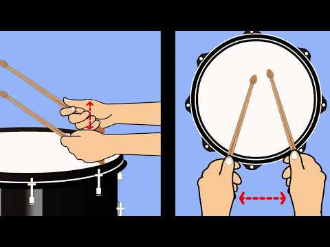 How to a Hold Drumstick Using the French Grip
