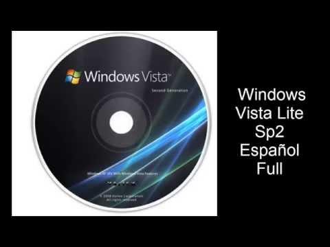 Windows vista lite Sp2 Español Full