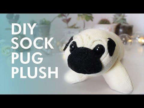 DIY Sock Pug Plush | LDP