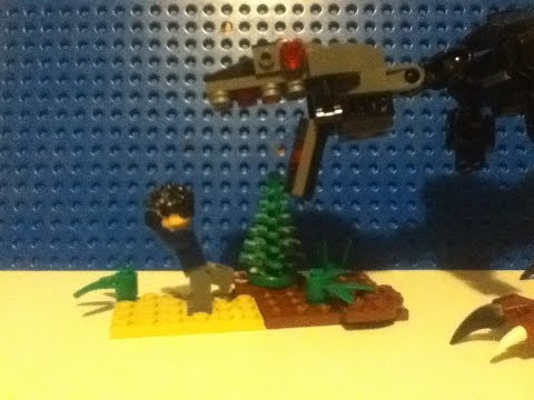 How To Make Lego T Rex