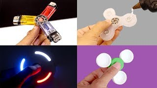 Download DIY FIDGET SPINNERS! 4 Ways To Make A Fidget Spinner Toy Video