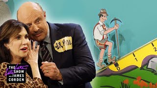 Dr. Phil & His Wife Live Out Their 'Price Is Right' Fantasy