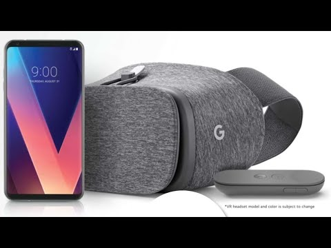 Unboxing: Google's Free Daydream View from LG's V30, V30+